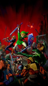Legend Of Zelda Ocarina Of Time Mobile Phone Wallpapers